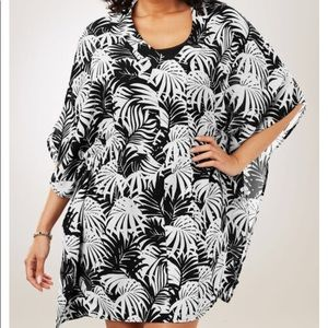 Swimsuits for all black and white cover up